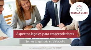 Aspectos legales para emprendedores