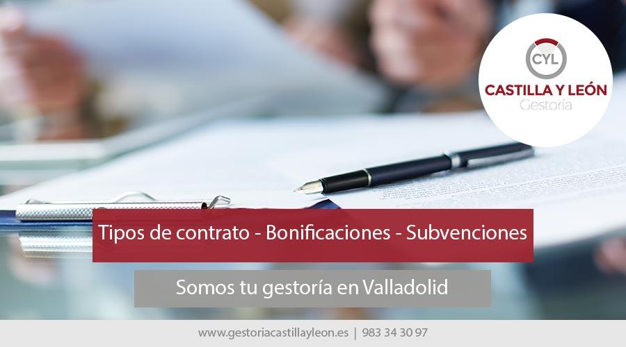 tipos-contrato-subvenciones-bonificaciones-valladolid