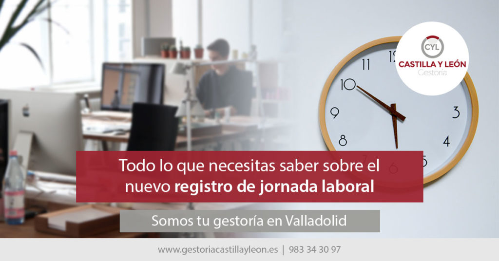 registro jornada laboral