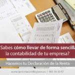 Cómo llevar una contabilidad sencilla