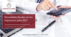 Novedades fiscales para 2021