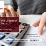 Novedades en la Declaración de la Renta 2020-2021