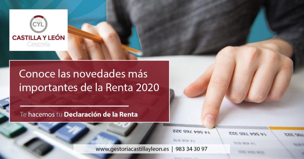 novedades renta 2020